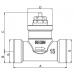 2-cestný zónový ventil CTV20