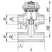 3-cestný prepúšťací zónový ventil ZTTB20-2,5